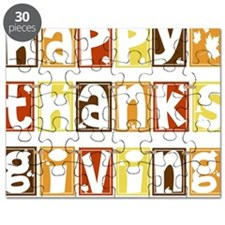 Happy Thanksgiving Banner Puzzle