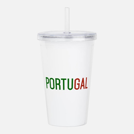 Portugal logo Acrylic Double-wall Tumbler