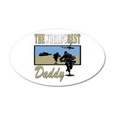 Best Military Daddy copy.png Wall Decal