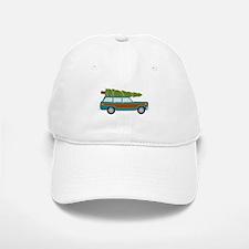 Christmas Tree Station Wagon Car Baseball Baseball Baseball Cap