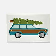 Christmas Tree Station Wagon Car Magnets