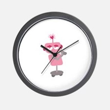 Valentine Robotic Wall Clock