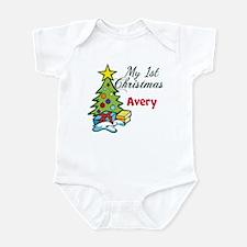 1st Christmas Infant Bodysuit