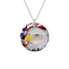 flag-eagle-banner2_medium Necklace