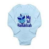 First hannukah baby Long Sleeves Bodysuits
