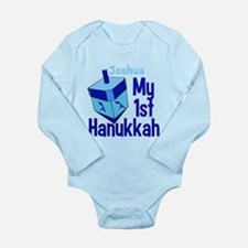 1st Hanukkah Long Sleeve Infant Bodysuit