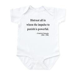Nietzsche 17 Infant Bodysuit