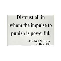 Nietzsche 17 Rectangle Magnet (100 pack)