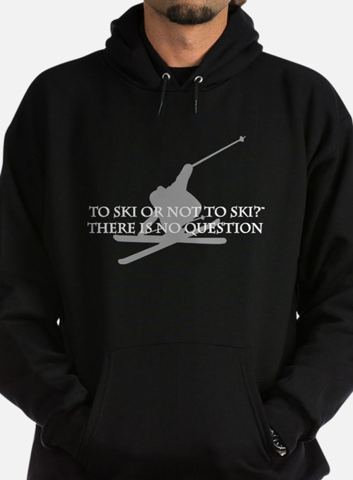 Cute Skiing Hoody