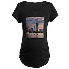 Boston , Massachussets Maternity T-Shirt