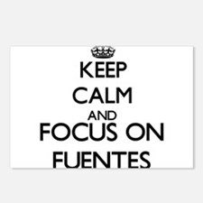 Keep calm and Focus on Fu Postcards (Package of 8)