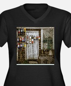 Rockport - Buoy, door and window Plus Size T-Shirt