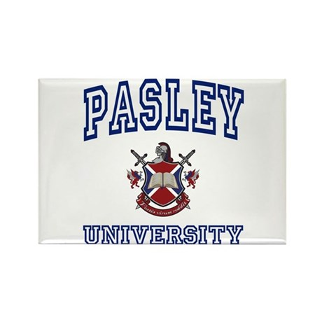 PASLEY University Rectangle Magnet
