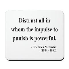 Nietzsche 17 Mousepad