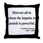 Nietzsche 17 Throw Pillow