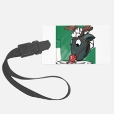 Red Nosed Helper Luggage Tag