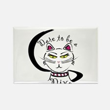 Dare to be a Diva Rectangle Magnet