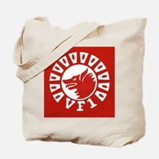 F-14 Tomcat VF-1 Wolfpack Squadron Clock Tote Bag