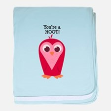 Youre a Hoot baby blanket