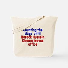 Obama leaves office - Tote Bag