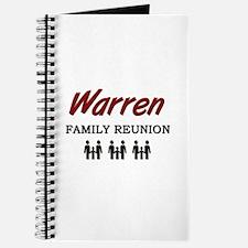 Warren Family Reunion Journal