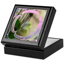 Blue-Winged Parrotlet Keepsake Box