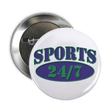 """Sports 24/7 Logo 2.25"""" Button (100 pack)"""