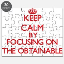 Keep Calm by focusing on The Obtainable Puzzle