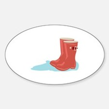 Rainboots Decal