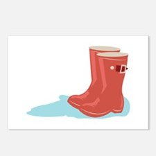 Rainboots Postcards (Package of 8)
