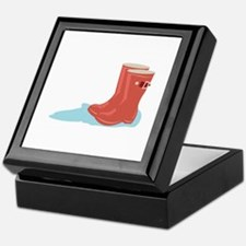 Rainboots Keepsake Box