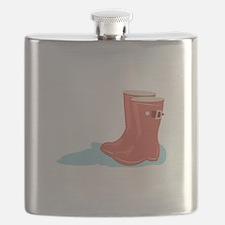 Rainboots Flask