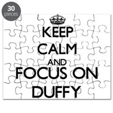Keep calm and Focus on Duffy Puzzle