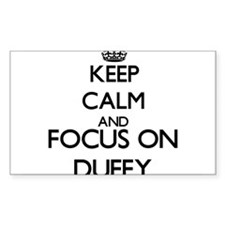 Keep calm and Focus on Duffy Decal