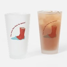 Boots Splashin Drinking Glass