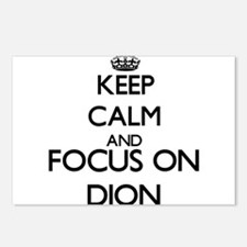Keep calm and Focus on Di Postcards (Package of 8)