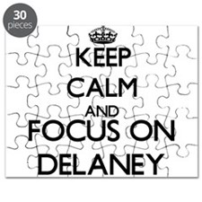 Keep calm and Focus on Delaney Puzzle