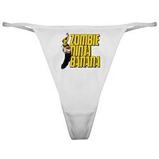 Zombie Ninja Banana Classic Thong