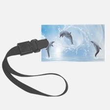 The Dreams Of Dolphins Luggage Tag