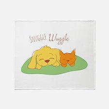 Snuggle Wuggle Throw Blanket