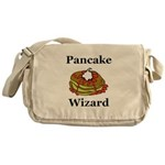 Pancake Wizard Messenger Bag