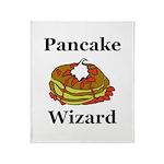 Pancake Wizard Throw Blanket