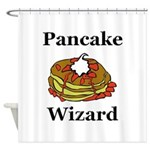 Pancake Wizard Shower Curtain