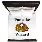 Pancake Wizard King Duvet