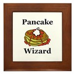 Pancake Wizard Framed Tile