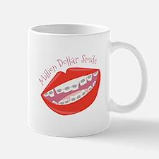 Million Dollar Smile Mugs