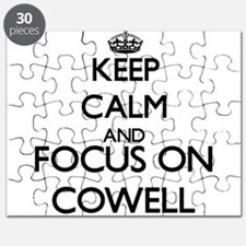 Keep calm and Focus on Cowell Puzzle