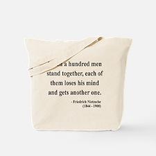 Nietzsche 19 Tote Bag