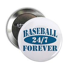 Baseball Forever 24/7 Logo Button