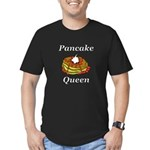 Pancake Queen Men's Fitted T-Shirt (dark)